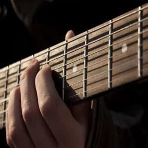mastil guitarra